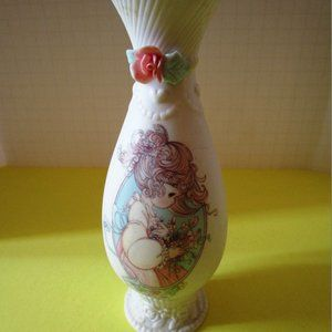 Precious Moments Ceramic Bud Vase